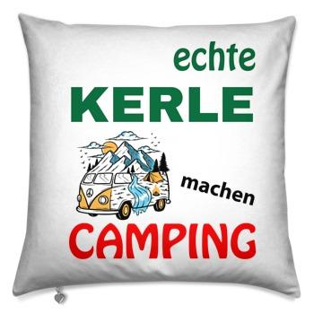 Decorative pillow 40x40 / real guys go camping with Camper